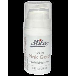Сыворотка увлажняющая Розовое золото Mila