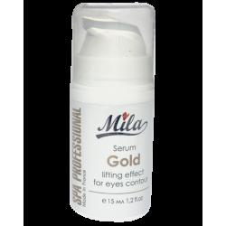 Сыворотка лифтинг Золото Mila