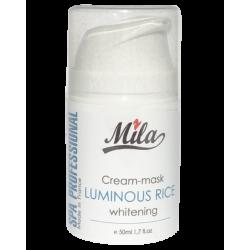 Маска с рисом кремовая Mila