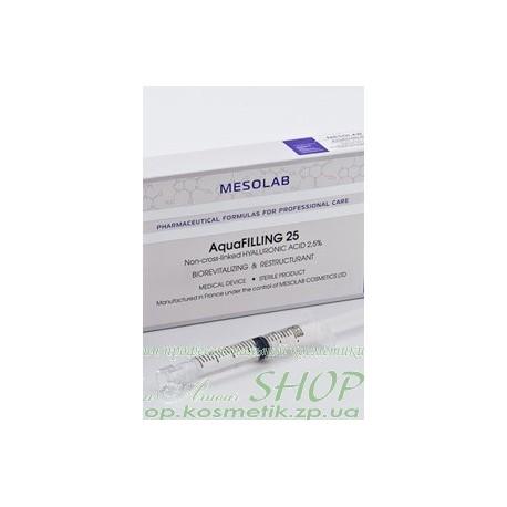 """Препарат для биоревитализации """"AQUAFILLING 25"""" НА-2,5%(35+)"""