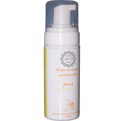 Мусс для очищения чувствительной кожи Means to cleans sensitive skin