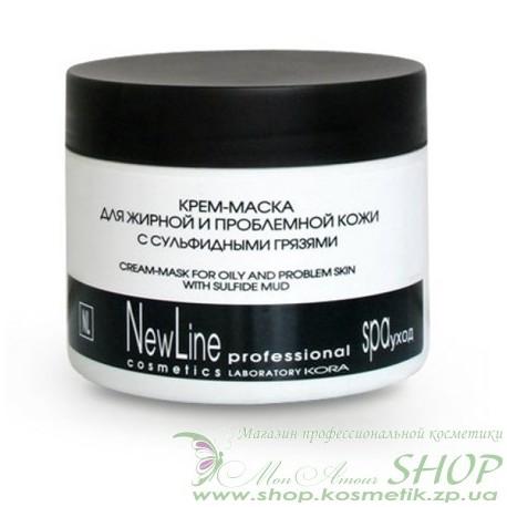New Line Крем-маска для жирной и проблемной кожи с сульфидными грязями